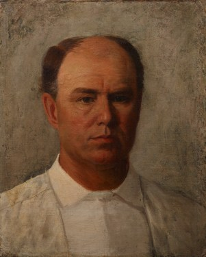 William Henry Huddle, Self-Portrait, 1891, Dallas Museum of Art, The Karl and Esther Hoblitzelle Collection, gift of the Hoblitzelle Foundation