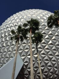 Andi visited Epcot and Disney World in June.
