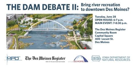 Website art -- The Dam Debate II online