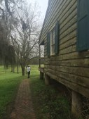 Historic wayside station on Natchez Trace Parkway just north of Natchez MS