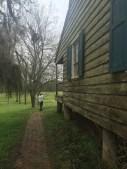 Historic wayside station on Natchez Trace Parkway just north of Natchez MS