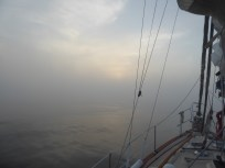 Sailing In Fog, Isle Royale