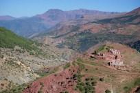 Berber Village in High Atlas Mountains
