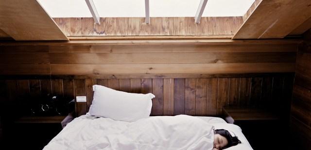การนอน และหมอนหนุน