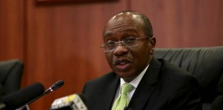 Godwin Emefiele, Governor Central Bank of Nigeria