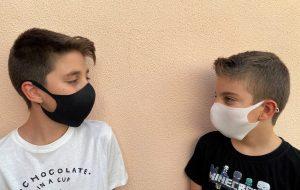 Mascarilla higiénica reutilizable de tela Dmask 65 Tallas niños