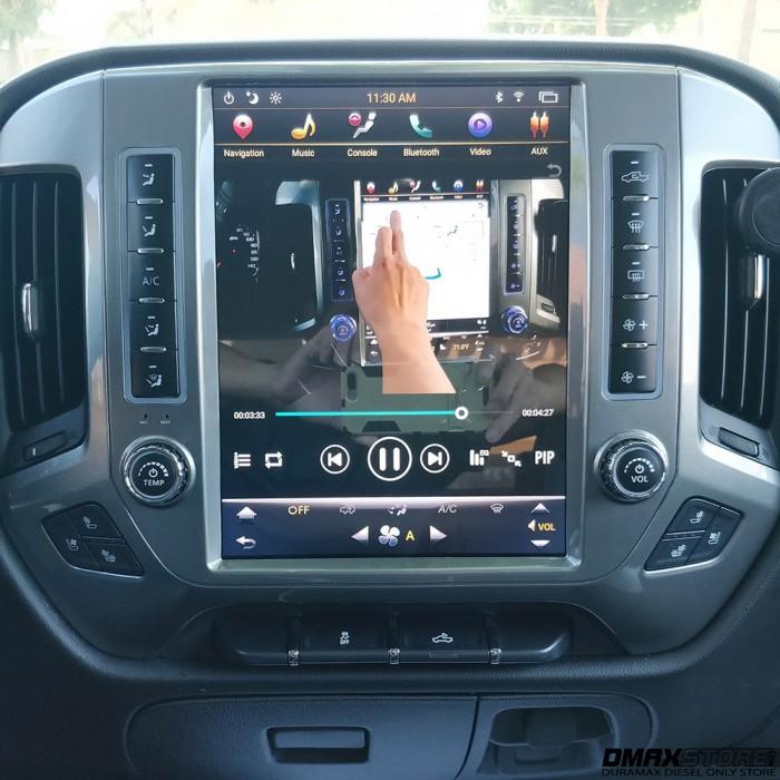 Phoenix 121 Android 71 Vertical Touch Screen Navigation Radio 2015 2018 Silverado Amp Sierra