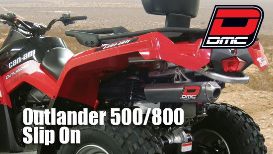 can am outlander max only 800 quiet
