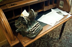 Type Writer in the Stanley