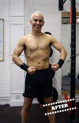 John Dingwall After DMC Fitness Personal Training