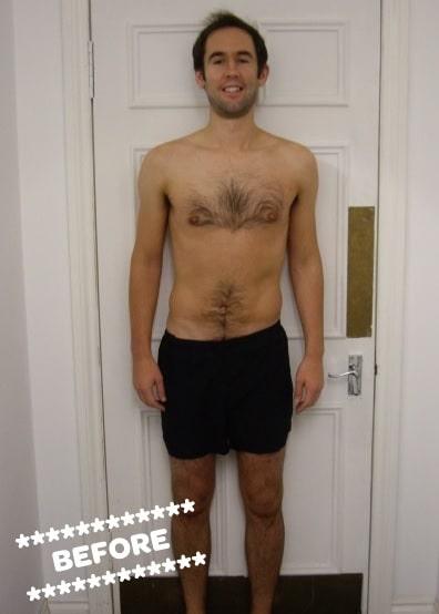 Stuart Cameron Before DMC Fitness Personal Training