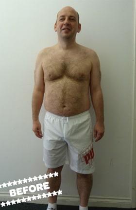 Paul Graham Before DMC Fitness Personal Training
