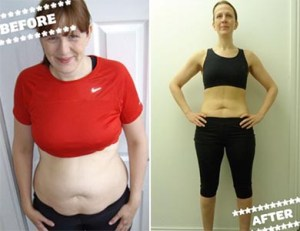 Angela Wood before and after