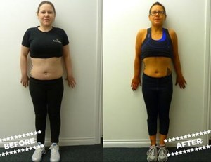 Nicole W before & after