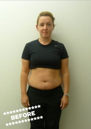 before weight loss