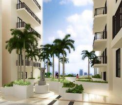 La verti Residences - podium garden