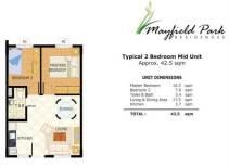 Mayfield Park Unit Layout