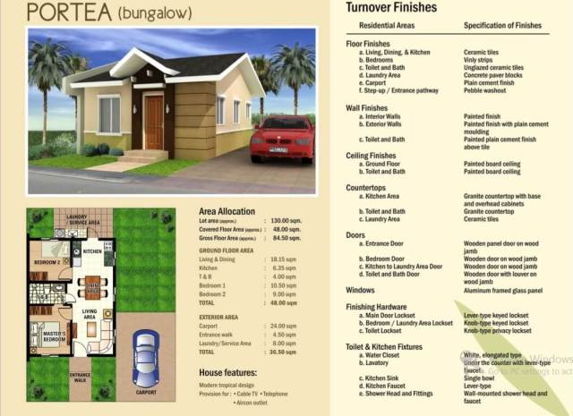 House and lot for Sale in Laguna Willow Park Homes