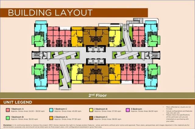Brio Tower Floor Layout