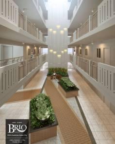 Brio Tower garden atrium