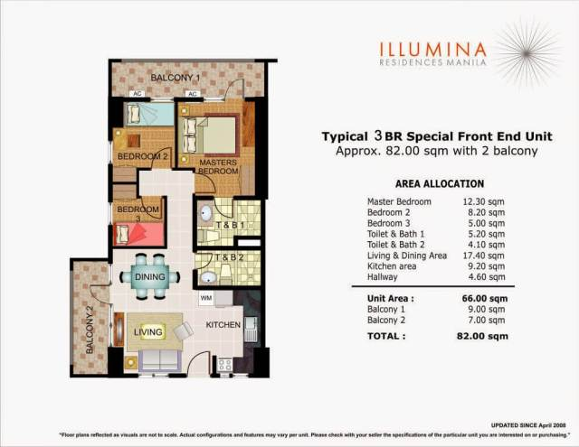 Illumina 3 Bedroom Unit
