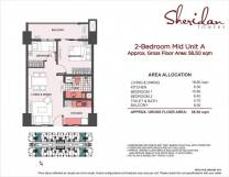 sheridan towers 2 bedroom A