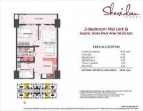 sheridan towers 2 bedroom B