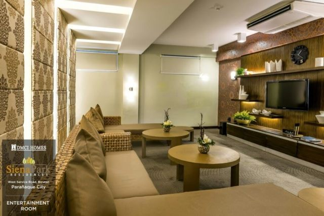 Siena Park Residences Entertainment Room