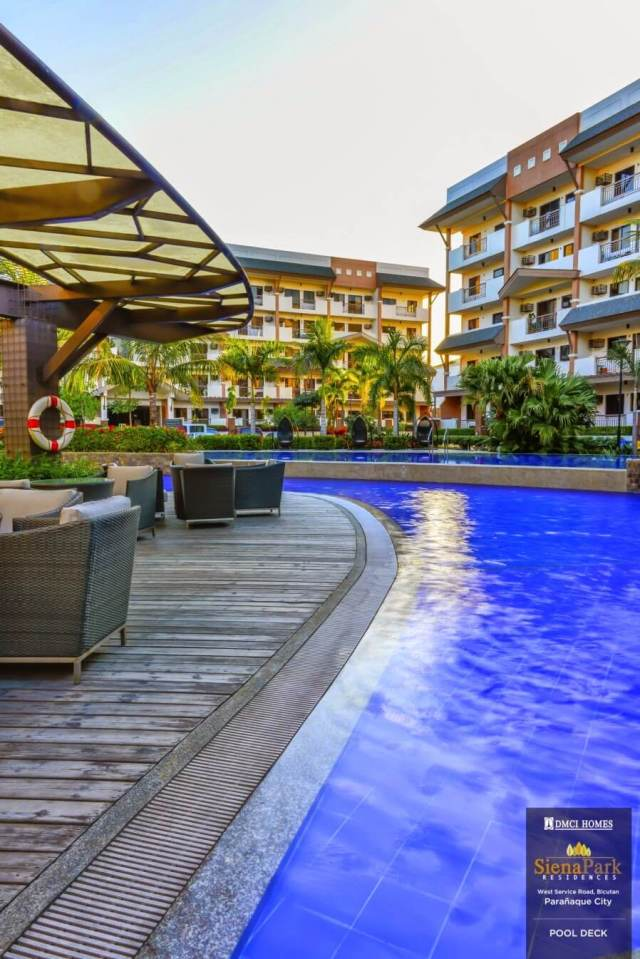 iena Park Residences Pool Deck