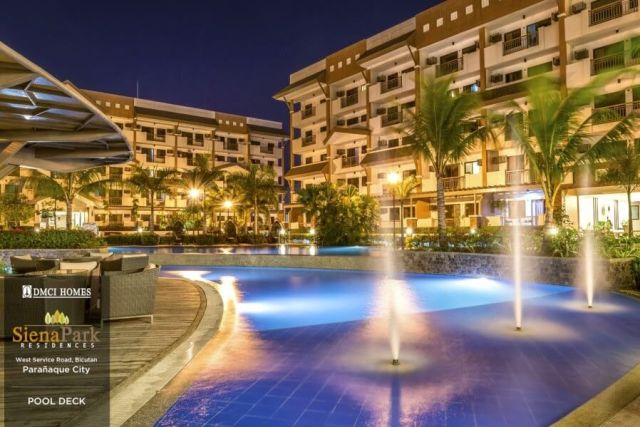 Siena Park Residences Water Features