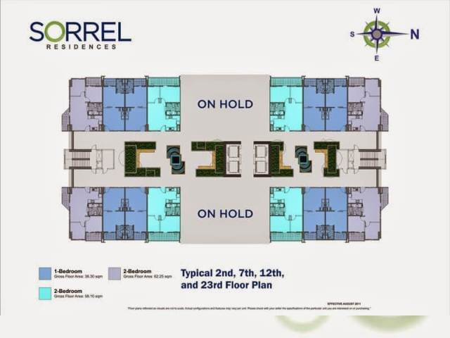 Sorrel Residences Floor Layout (Garden Atrium)