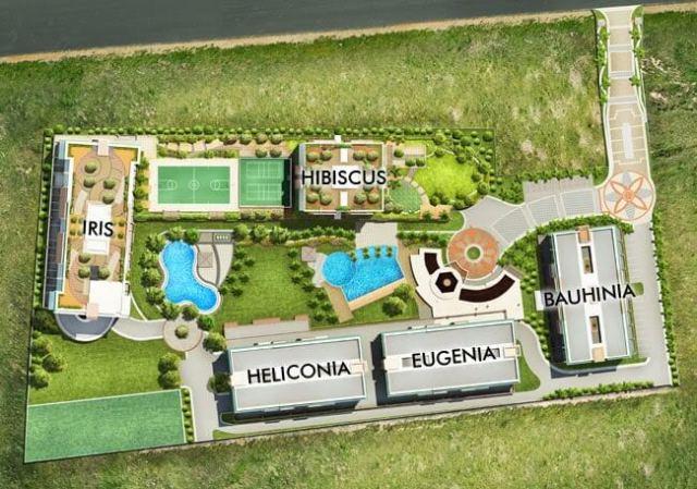 Tivoli Garde Residences Site Development Plan Top View