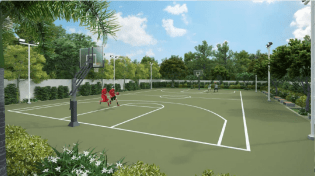 Basketball Court in Prisma Residences