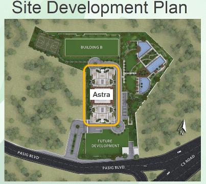 Site Development Place of Prisma Residence DMCi
