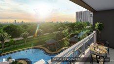 Balcony View in Satori Residences