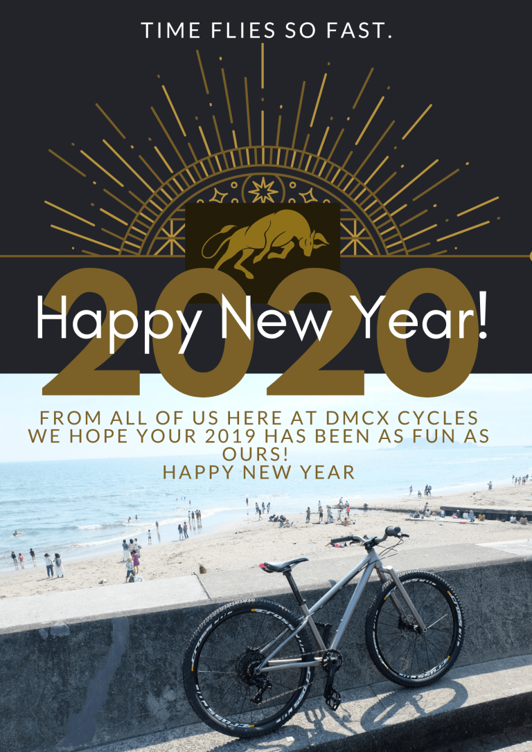 dmcx bicycles New Year 2019