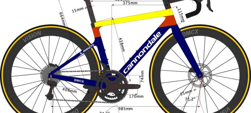 Sergio Higuita's Bike Size