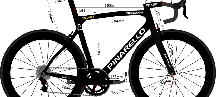 Chris Froome's 2020 Bike size