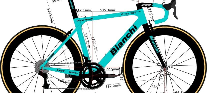 George Bennett's Bianchi Bike Size 2020