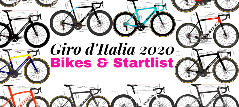 Giro d'Italia 2020's Team Bikes and Riders Start list
