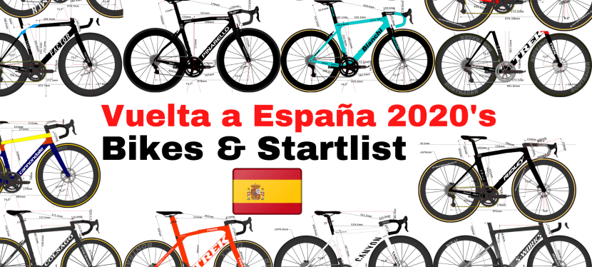 Vuelta a España 2020's Team Bikes and Riders Start list