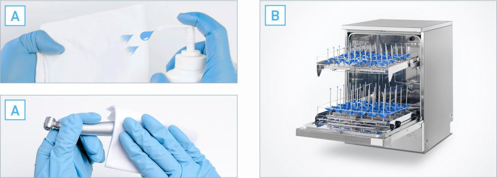 L'atelier dmd : Entretenir ses turbines dentaires désinfection