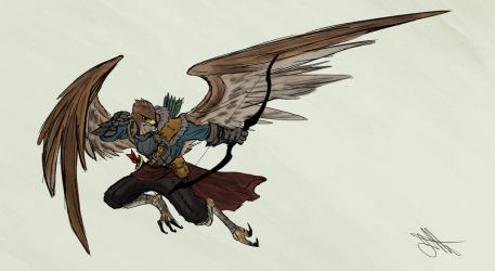 aarakocra seeker of the rod