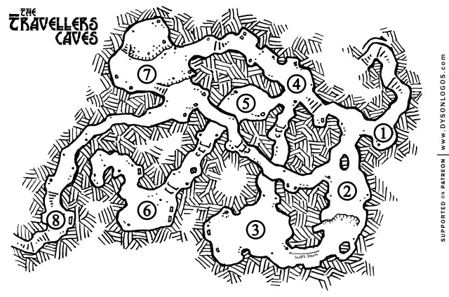 Free map for you to use in your personal 5e campaigns.