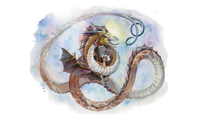 Unmated Astral Dragons for Fifth Edition Dungeons and Dragons