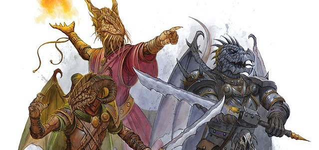 Draconians | Player Race Option for Dungeons & Dragons Fifth