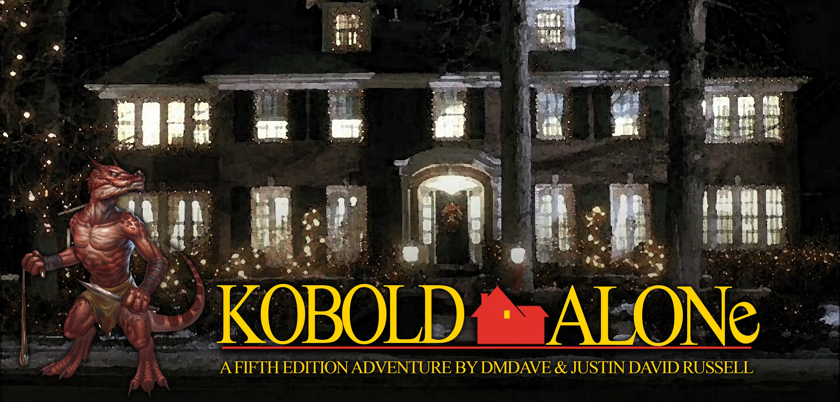 Kobold Alone 1st Level Holiday Adventure For Dungeons Dragons Fifth Edition Pdf Included Dmdave Fifth Edition Monsters Maps And More