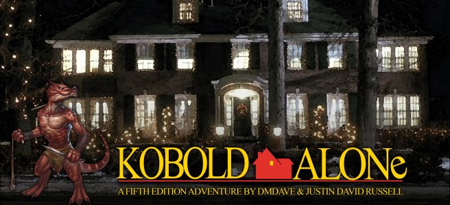 Kobold Alone Home Alone Holiday Christmas Adventure for D&D Fifth Edition