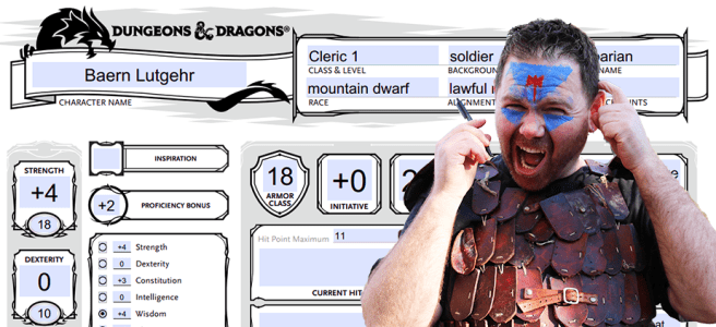 How to Create a D&D 5e Character Sheet from Scratch | The DM Lair