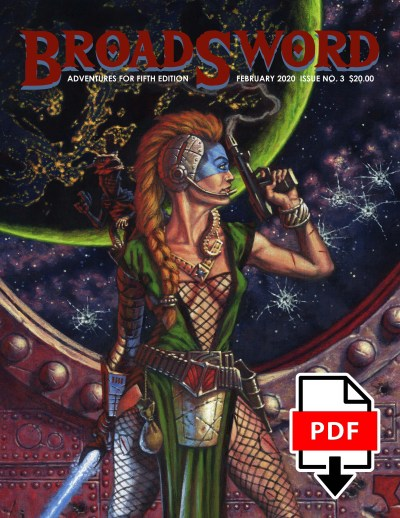 BroadSword Monthly Issue #4 PDF available for instant download at dmdave.com